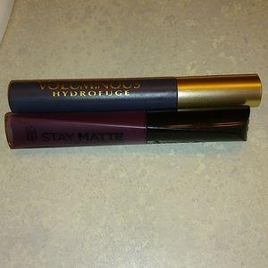 Mascara and Liquid Lipstick